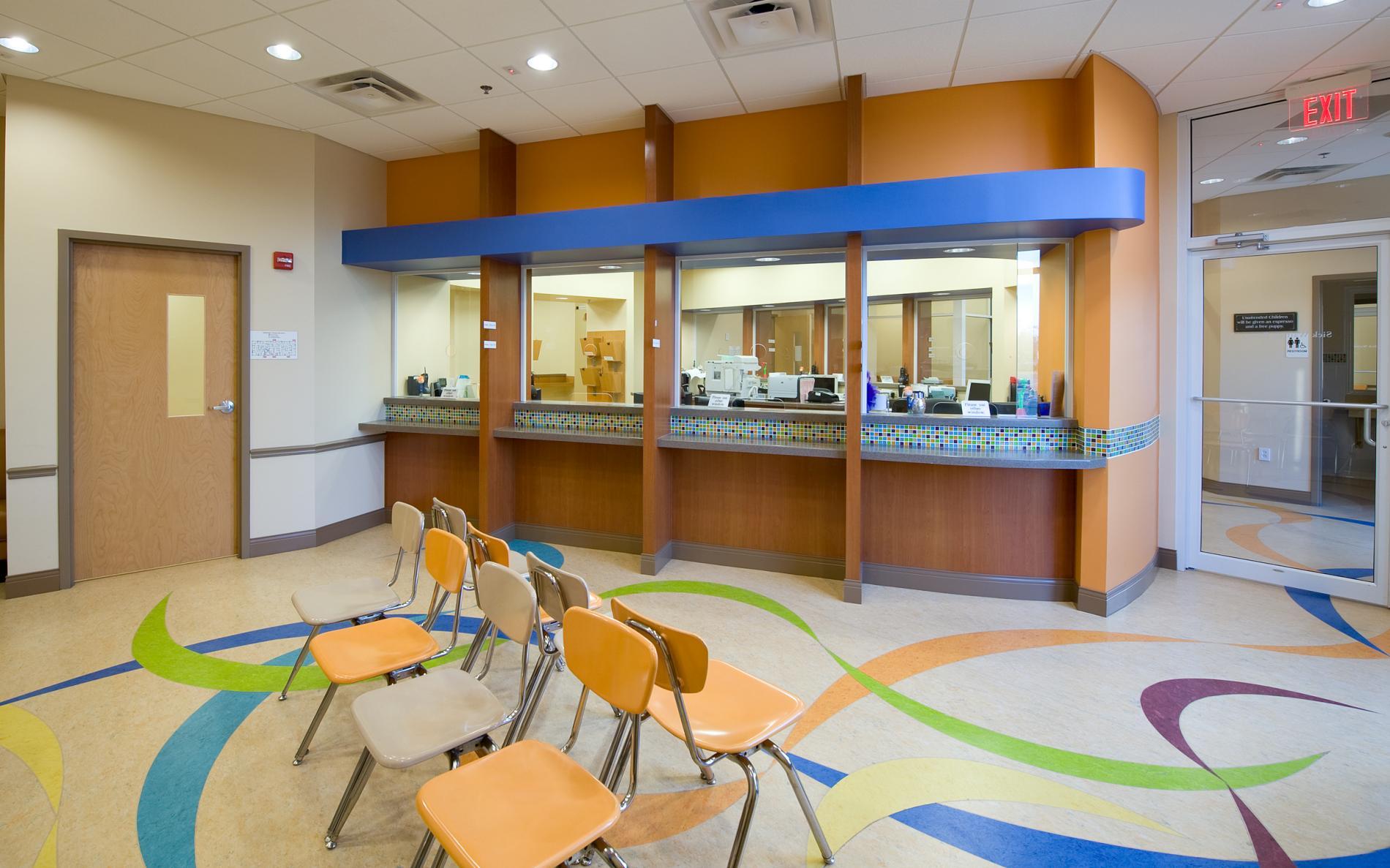 Powell Design Group | Orlando, FL | Architecture, Interiors, Planning :  Pediatric Associates
