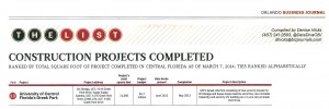 OBJ's 2013 Largest Construction Project List - Powell Design Group's Greek Park