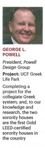 OBJ's 2013 Largest Construction Project List - George L Powell
